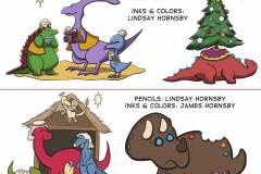 2011 Christmas Dinosaurs