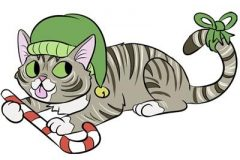 Internet Christmas Cats: LilBub